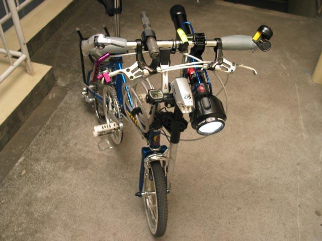 自転車の 自転車 ライト 台座 : 明るいライトが欲しい!の答え ...